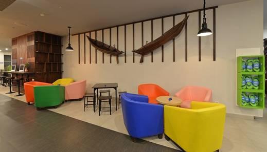 POP! Hotel Banjarmasin Banjarmasin - Lounge area