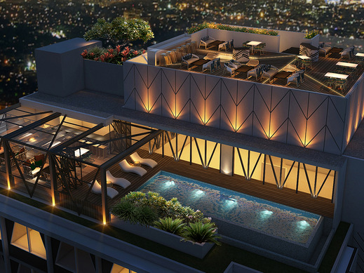 Awann Sewu Boutique Hotel & Suite Semarang - Swimmingpoll