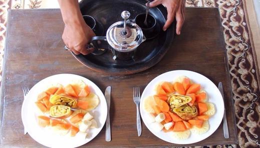 Mu Homestay Lombok - meals