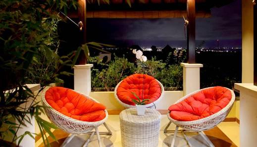 Aruna Samsara Bali - Balkon