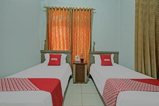 OYO 3757 Mahkota Syariah Guesthouse Banjarmasin - Bedroom