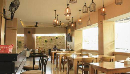 De Green City Hotel Bandar Lampung - Restoran