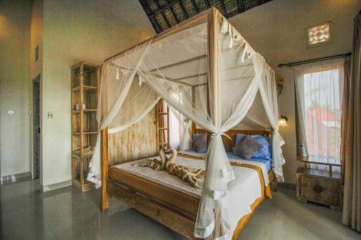 Villa Di Sawah Pejeng Bali - Bedroom