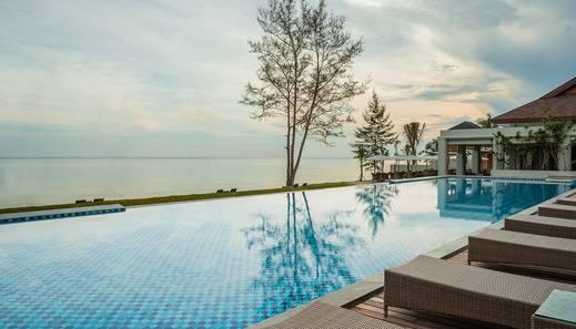 Santika Premiere Beach Resort Belitung Belitung - POOL