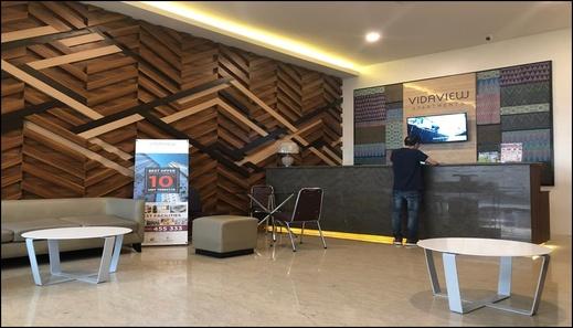 Vida View Apartment Floor 9 Makassar - reception