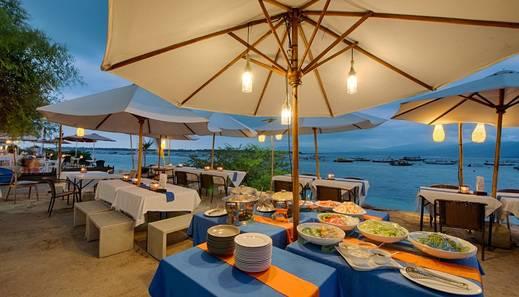 Natya Hotel Gili Trawangan Lombok - Restaurant