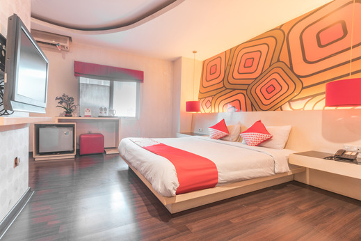 OYO 416 Hotel Boutique Pesona Cikarang Bekasi - Bedroom