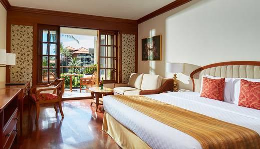 Ayodya Resort Bali - Kamar Deluxe - King Size Bed