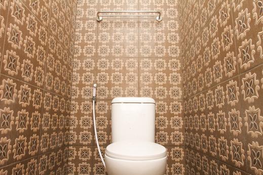 Hotel Grand Iora Bekasi by MyHome Hospitality Bekasi - Bathroom