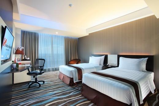 Swiss-Belhotel Makassar - Kamar deluks 2 tempat tidur