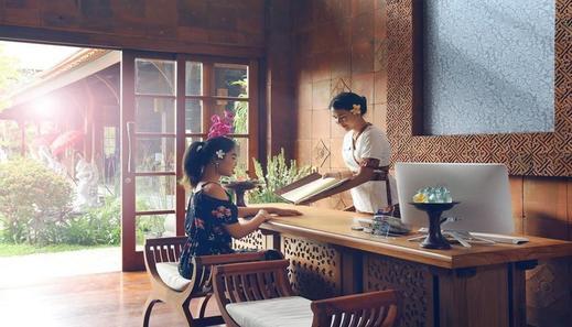 The Alantara Sanur by Pramana Bali - Reception