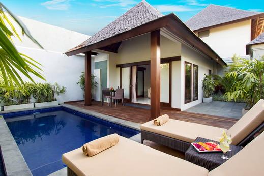 Serene Villas Bali - Kolam Renang Serene Lotus