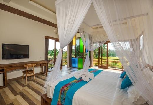 Green Sala Villa Bali - Room