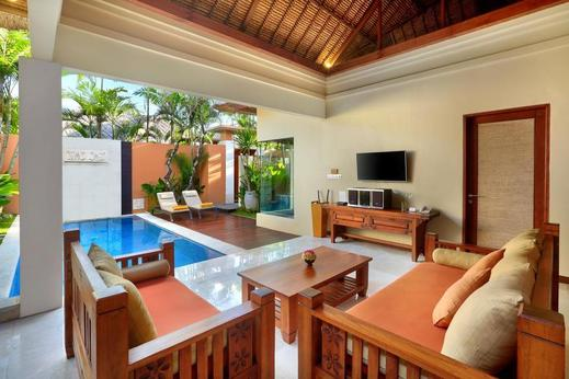 Bhavana Private Villas Bali - Livingroom