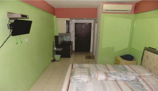Apartemen Sunter Park View By Cartic Jakarta - Bedroom