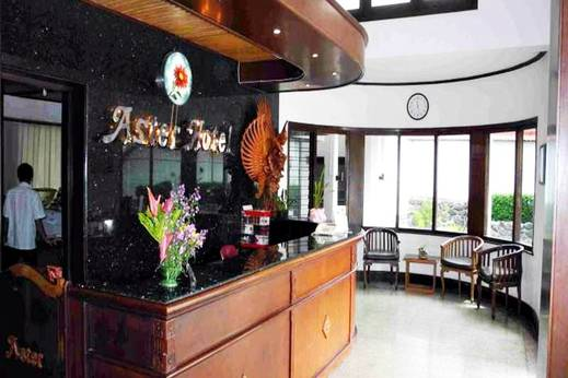 Aster Hotel & Restaurant Malang - Resepsionis