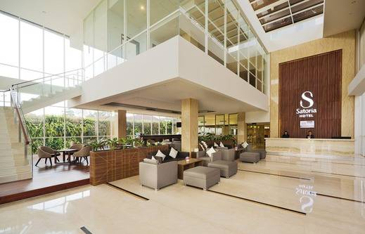 Satoria Hotel Yogyakarta Adisucipto - Lobby