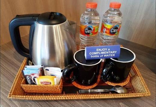 Grand Senggigi Hotel Lombok - Coffee and tea maker