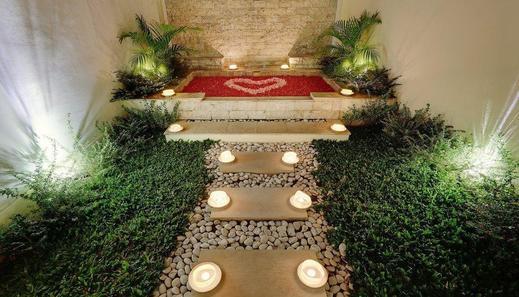 Nipuri Resort Seminyak Bali - Honeymoon set up in Suite Studio Onebedroom