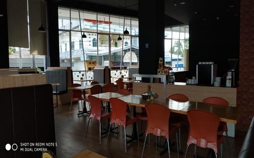 Grand Indobaru Hotel Kepulauan Meranti - Restaurant