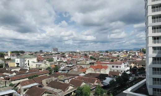 Apartemen Taman Melati By The Trust Yogyakarta - Pemandangan kota