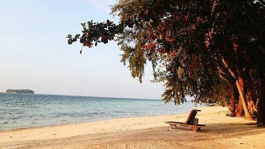 Pulau Pelangi Resort Jakarta - Pantai