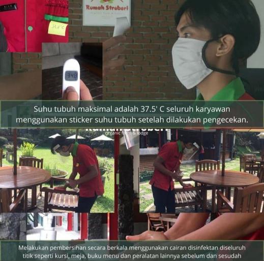 Rumah Stroberi Organic Farm and Lodge Lembang - Hygiene