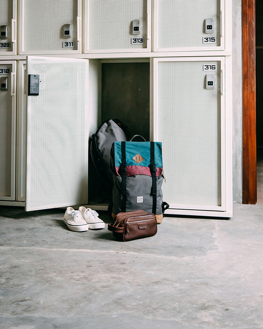 So Boutique Hostel Malang - Locker
