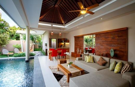 The Kasih Villas & Spa Bali - Ruang tamu