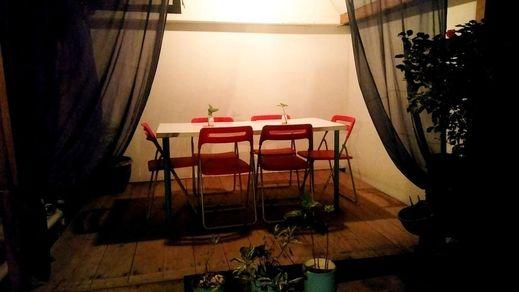 Salon de Nomad Gili T Lombok - interior