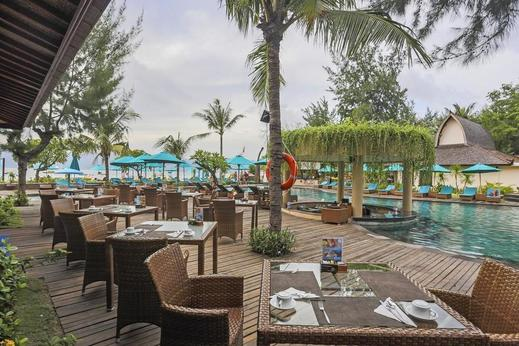 Hotel Villa Ombak Lombok - Restaurant