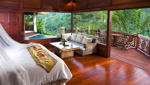 Kupu Kupu Barong Villas Bali - River Front Pool Villa