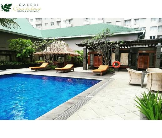 Galeri Ciumbuleuit Apartment By Kevin Property Bandung - Kolam Renang