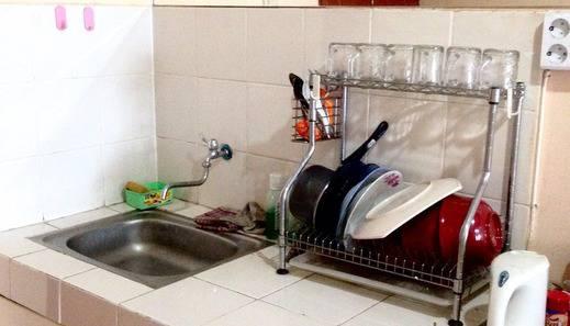 Holamigos@Buah Batu Apartement Bandung - Kitchen