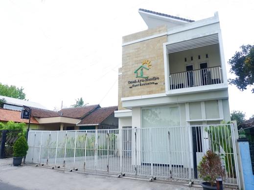 OYO Life 2125 Omah Ayu Mendiro Syariah Yogyakarta - Facade