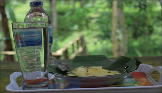 Tereng Willis Jungle Inn Lombok - meals