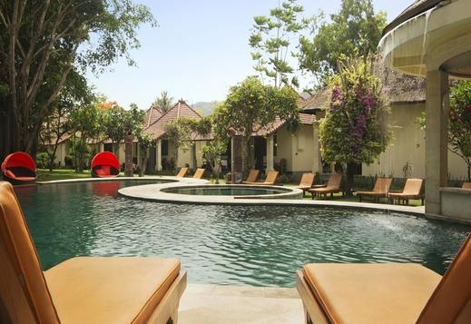 Puri Rinjani Bungalows Lombok - Pool
