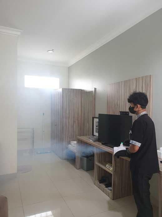 Hotel Villa Aries Biru Puncak - Disinfectan