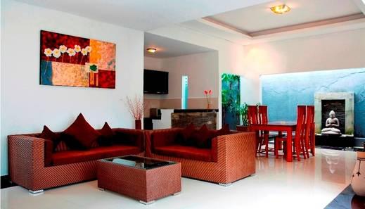 Kubu Manggala Villas Bali - Ruang tamu