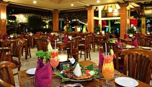 Diwangkara Beach Hotel & Resort Bali - Restoran