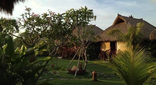 Merta Sari Balangan Bungalows Bali - Taman