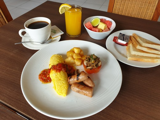 Mansu Hotel & Spa Legian Bali - Sarapan