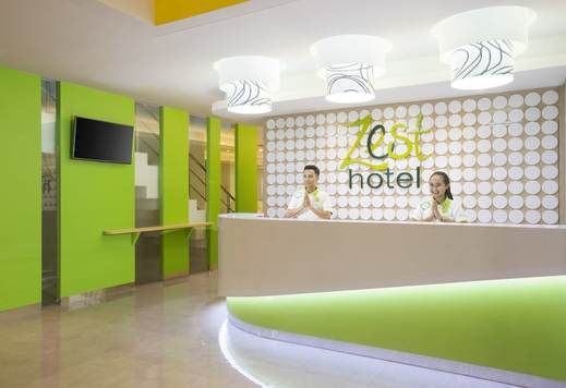 Zest Hotel Bogor - Reception