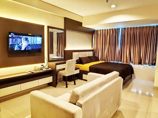 Grand Kamala Lagoon Apartement By Araia Room Bekasi - kamar