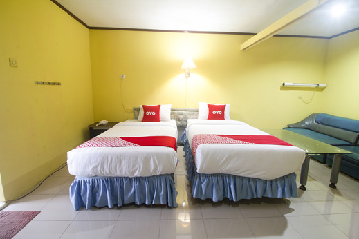 OYO 3104 Wisata Hotel Ambon - Bedroom