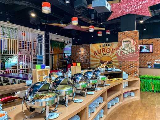 Fame Hotel Serpong - popcorn resto buffet