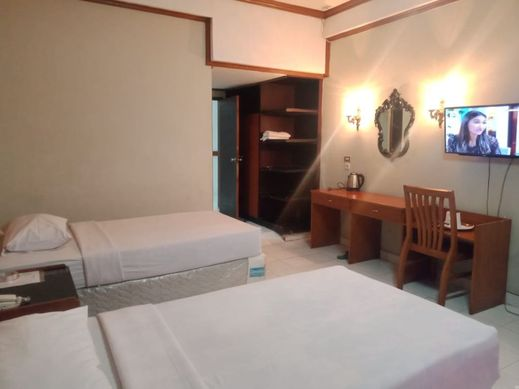 New Pacific Hotel Bandar Lampung - Deluxe Double
