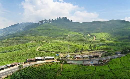 Tinggal Premium at Bogor Nirwana Residence - Pemandangan gunung