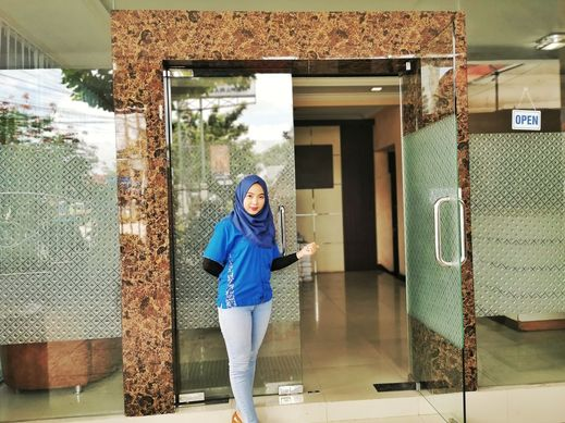 Hotel Mukti Jaya Banyumas - Reception