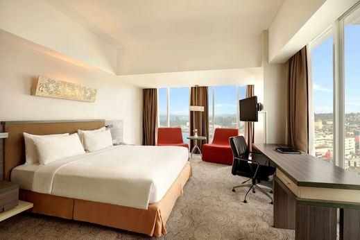 Swiss-Belhotel Balikpapan - View from Room